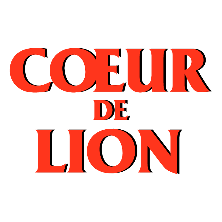 free vector Coeur de lion
