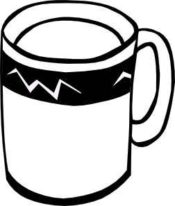 free vector Coffee (b And W) clip art