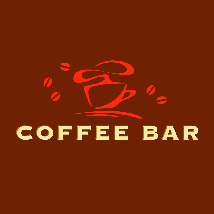 free vector Coffee bar