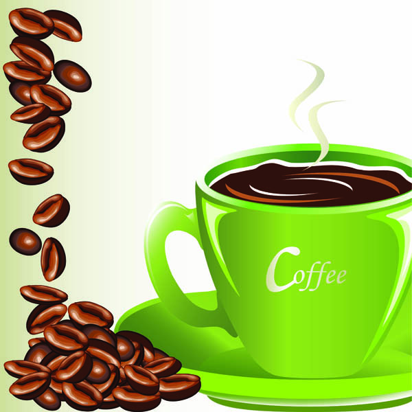 Coffee Coffee Beans Mugs 5379 Free Eps Download 4 Vector