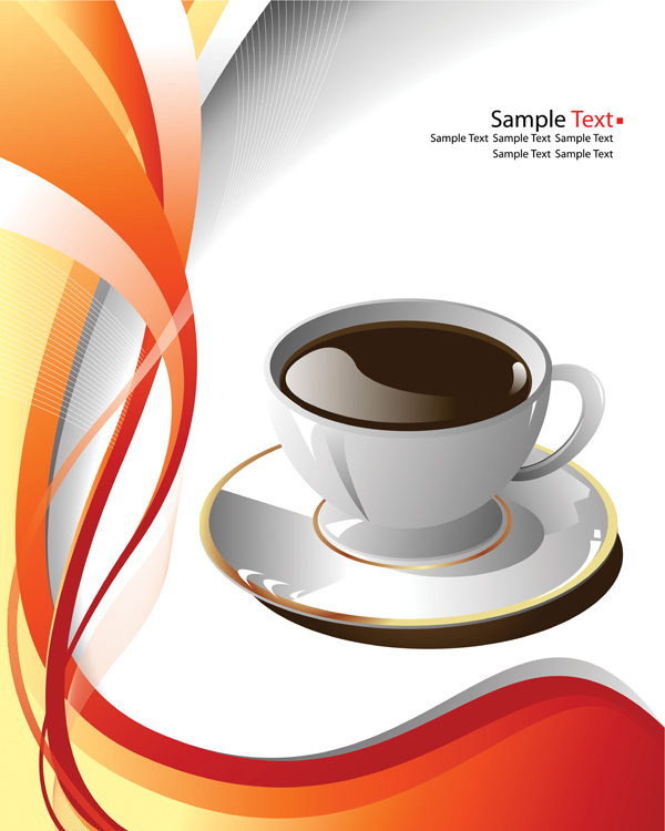 Coffee cup clip art (5215) Free EPS Download / 4 Vector