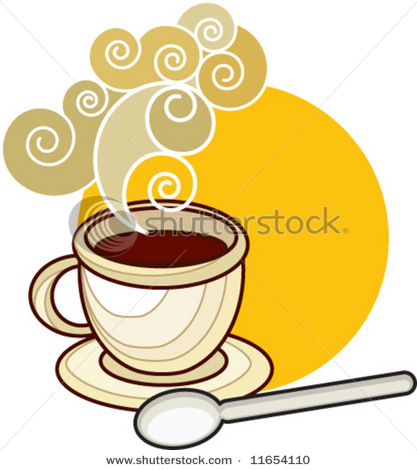 free vector Coffee icon and background vector