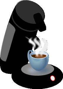 free vector Coffee Machine clip art