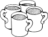 free vector Coffee Mugs clip art