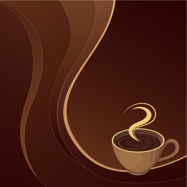 Coffee Theme Vector Free Vector 4vector