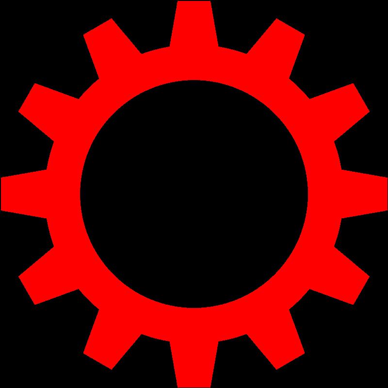 free vector Cogwheel symbol by Rones
