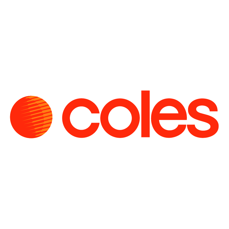 free vector Coles supermarkets