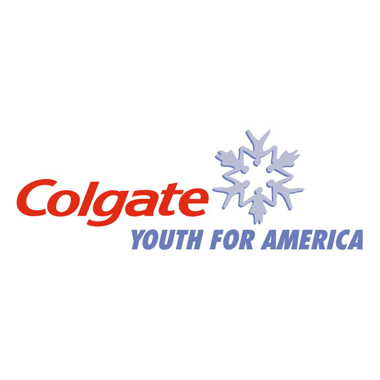 free vector Colgate youth for america