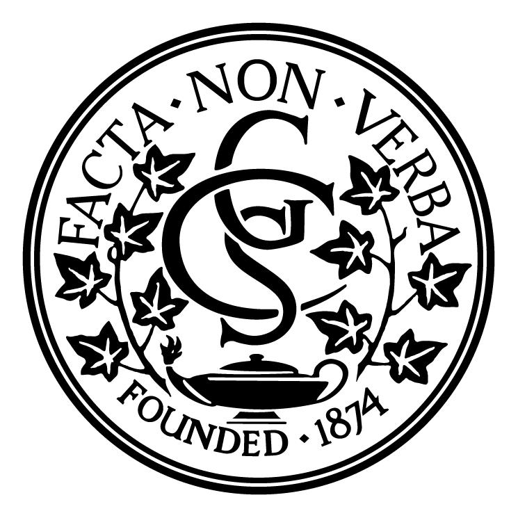 free vector Collegiate school for girls