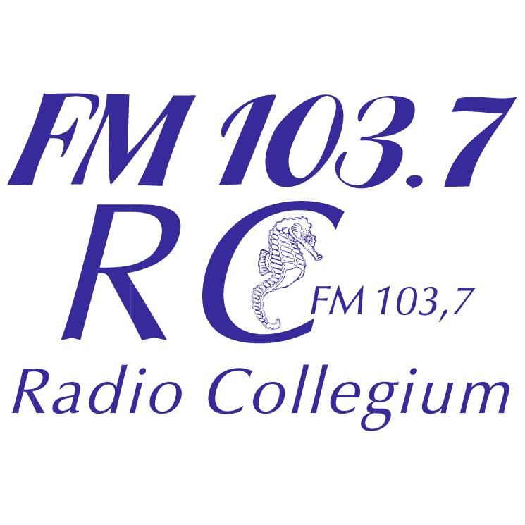 free vector Collegium radio