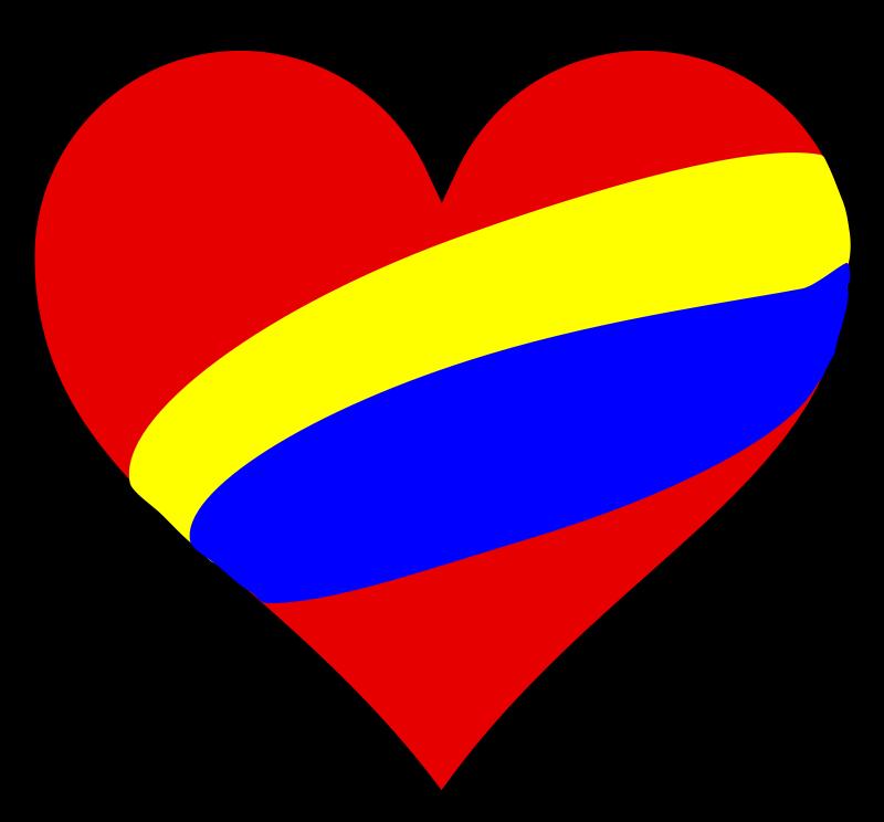 free vector Colombia en el corazon