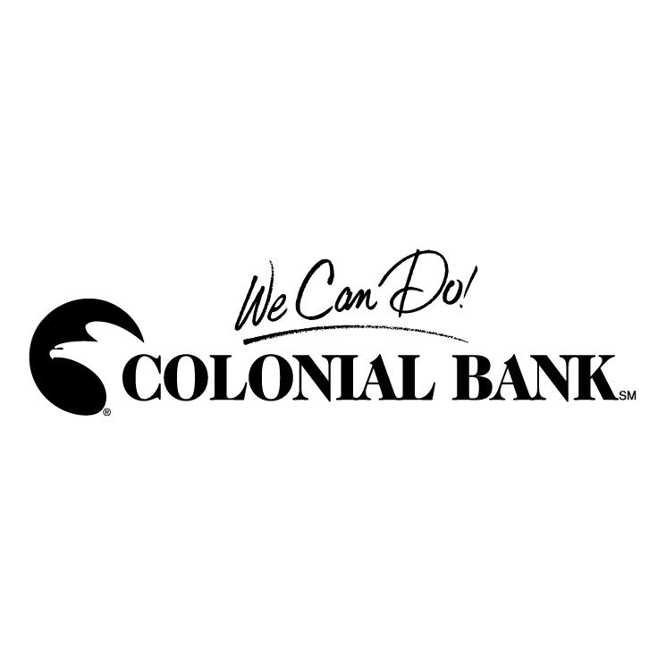 free vector Colonial bank