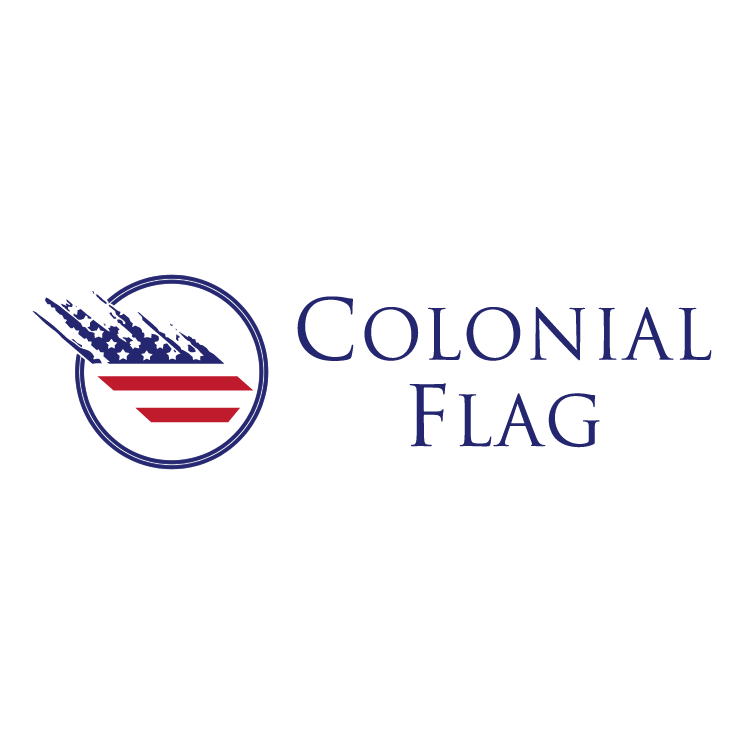 free vector Colonial flag