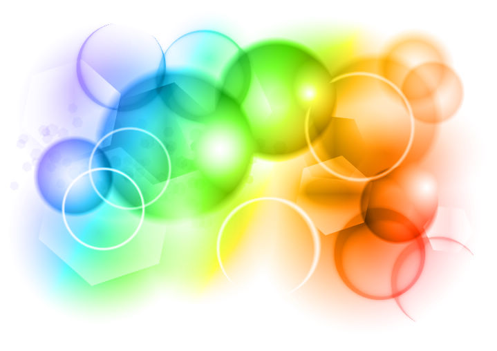 free vector Color Bokeh Vector Graphic