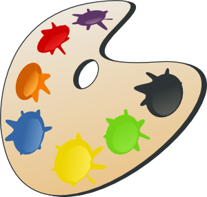 free vector Color Palette clip art