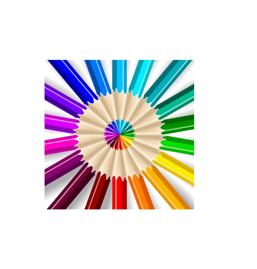 free vector Color Pencils Vectors