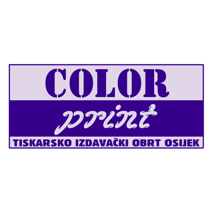 free vector Color print 0