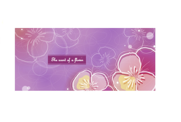 free vector Color soft floral background vector 2 9p