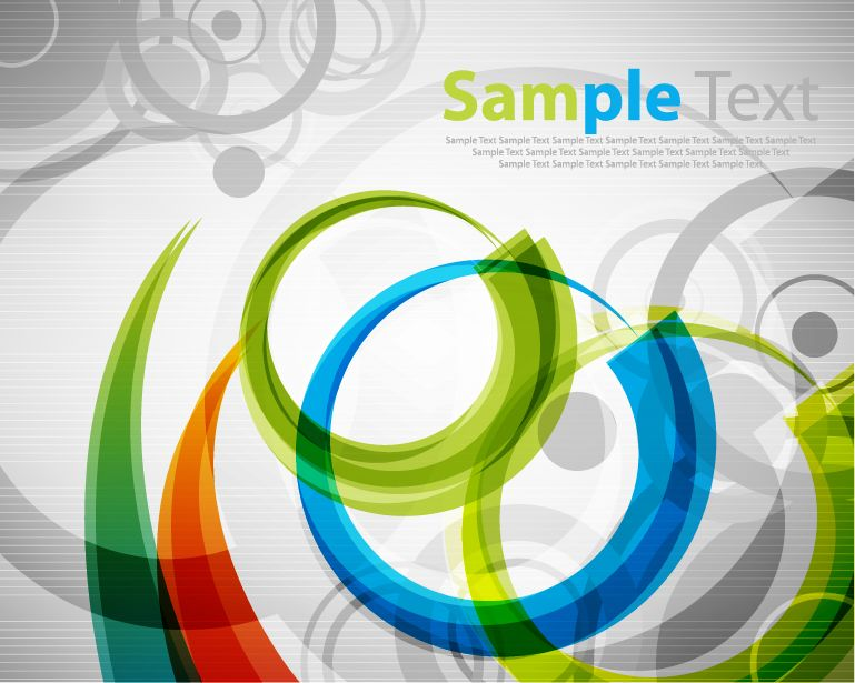 free vector Colorful Abstract Vector