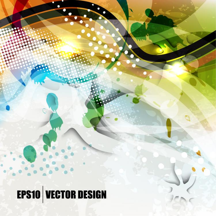 free vector Colorful background 04 vector