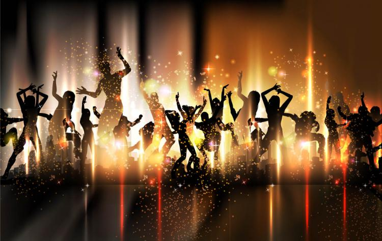 free vector Colorful background dance 15419