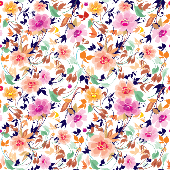 free vector Colorful background pattern 01 vector