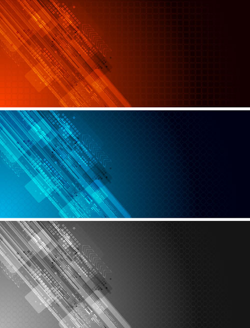 free vector Colorful banner banner02 vector