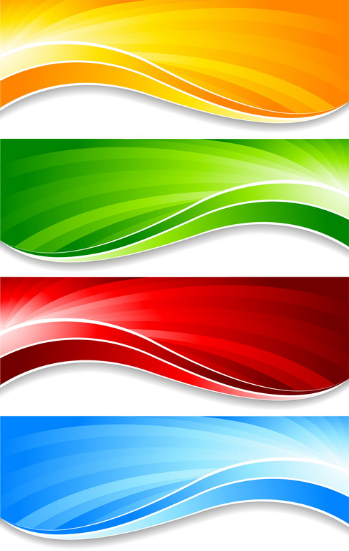 free vector Colorful banner banner04 vector
