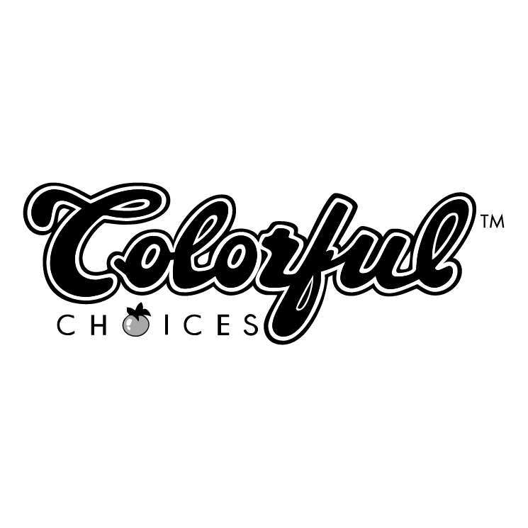 free vector Colorful choices