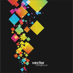 free vector Colorful element vector