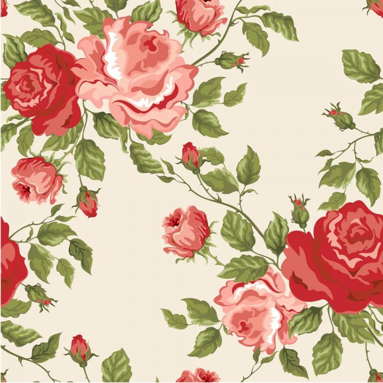 free vector Colorful flowers background 03 vector 20678