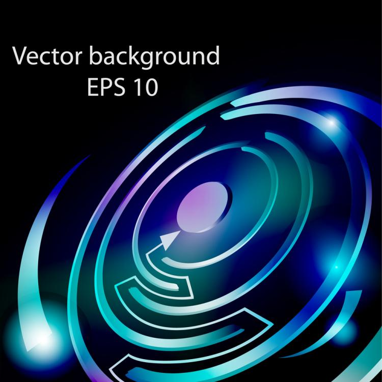 free vector Colorful maze 03 vector