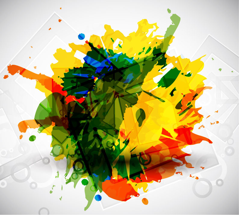 free vector Colorful Vector Art
