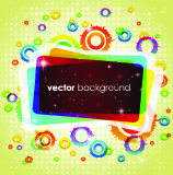 free vector Colorful vector background 1