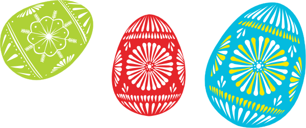 colour easter eggs clip art free vector 4vector rh 4vector com easter vector elements easter vector art free