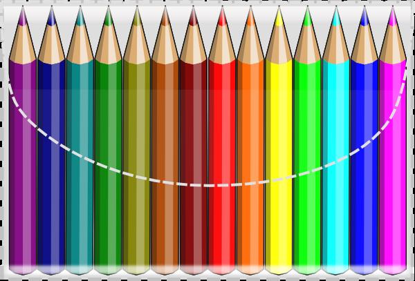 Colouring Pencils clip art Free Vector  4Vector