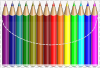free vector Colouring Pencils clip art