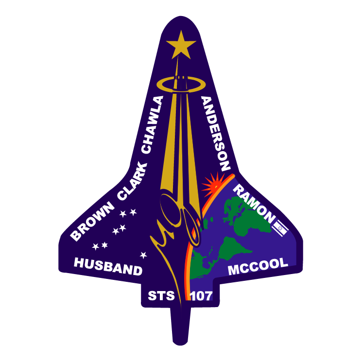 free vector Columbia mission patch