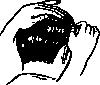 free vector Combing Hair clip art