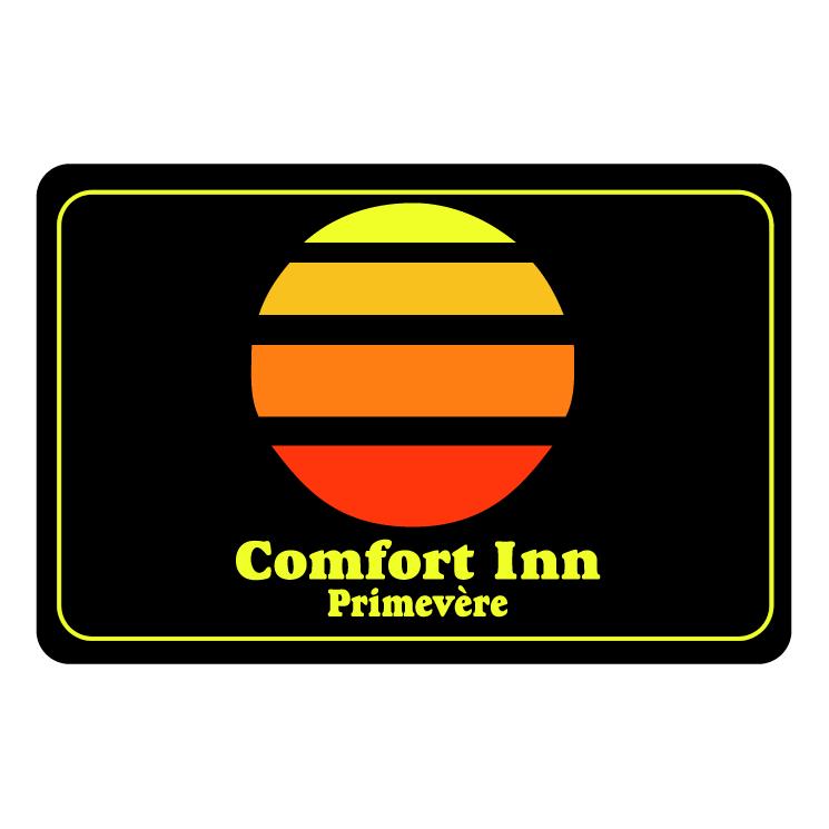 free vector Comfort inn primevere