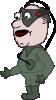 free vector Comic Characters Borg clip art