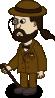 free vector Comic Characters Gentelman clip art