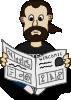 free vector Comic Characters Newspaper clip art