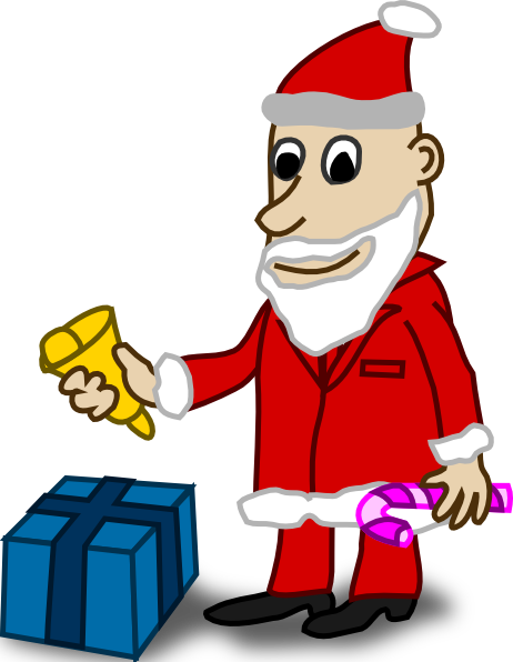 Santa clip art 104144 comic characters santa clip art hight
