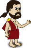 free vector Comic Characters Toga clip art