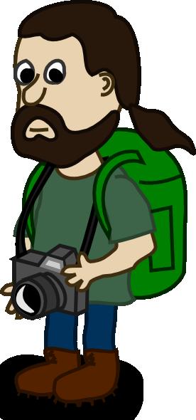 free vector Comic Characters Trekker clip art