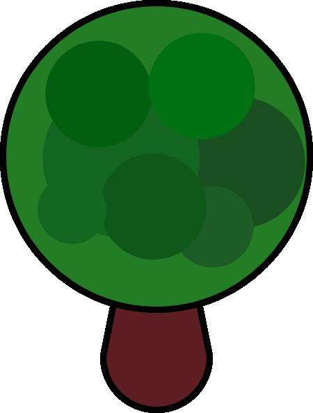 free vector Comic Tree clip art