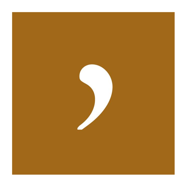 free vector Comma design