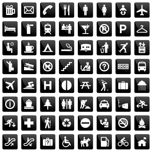 free vector Common instructions living icon vector