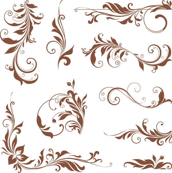 free vector Common pattern vector 2